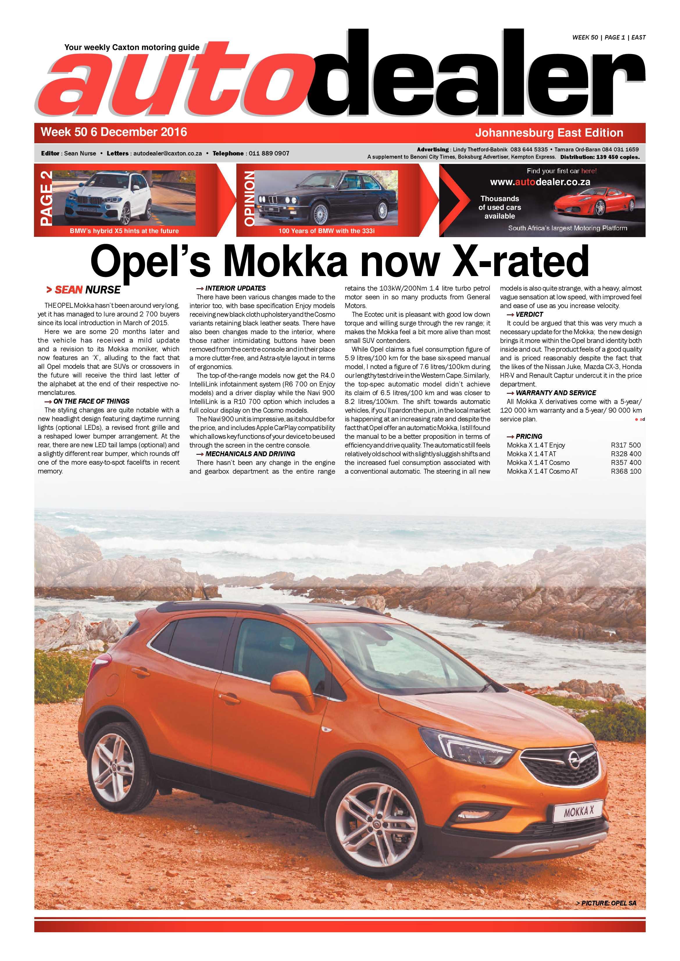 Brakpan Herald 2 Dec 2016   Brakpan Herald